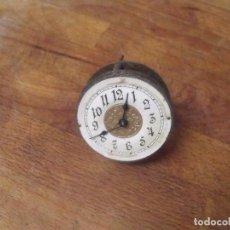 Recambios de relojes: ANTIGUA MAQUINARIA VOLANTE-ART-NOUVEAU PARA RELOJ SOBREMESA-FUNCIONA-AÑO 1910-LOTE 237. Lote 189899327
