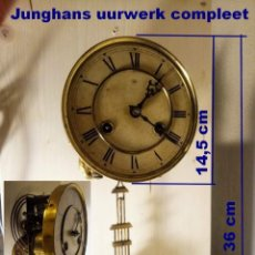 Recambios de relojes: MÁQUINA JUNGHANS, FUNCIONES, COMPLETO.. Lote 190574390