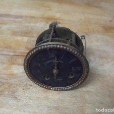 Recambios de relojes: ANTIGUA MAQUINARIA PARIS PARA RELOJ SOBREMESA-AÑO 1870- LOTE 241- FUNCIONA . Lote 190846901