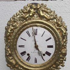 Recambios de relojes: CABEZA DE RELOJ MOREZ CON EL MECANISMO INTERIOR. Lote 191286495