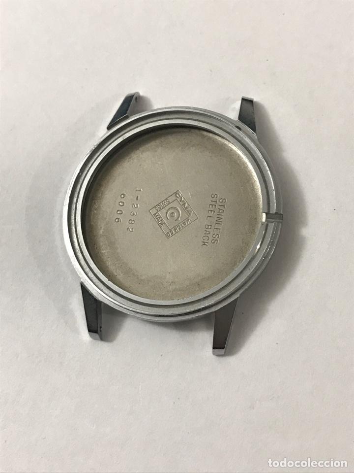 CAJA RELOJ CYMA 1-2382/6006 SIN USAR 34 MM •*• (Relojes - Recambios)