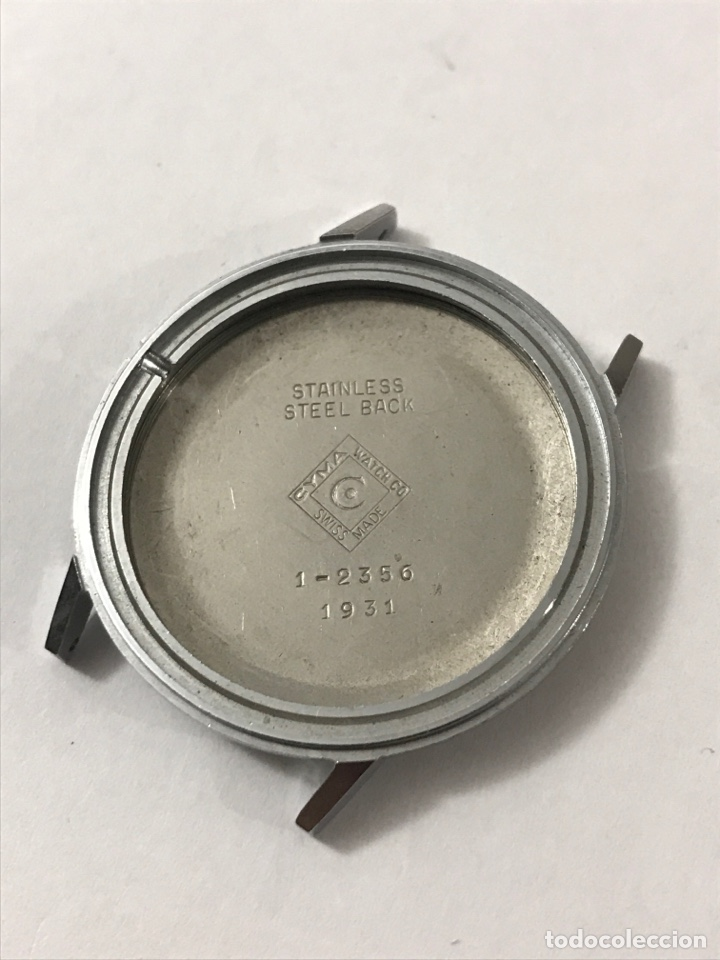 CAJA RELOJ CYMA 1-2356/1931 SIN USAR 34 MM •*• (Relojes - Recambios)