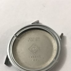 Recambios de relojes: CAJA RELOJ CYMA 1-2356/1931 SIN USAR 34 MM •*•. Lote 191568367