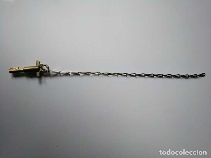 Recambios de relojes: LLAVE DE RELOJ DE GUARDA, VIGILANTE O SERENO - KEY WATCHMAN´S CLOCK - Foto 78 - 193918763