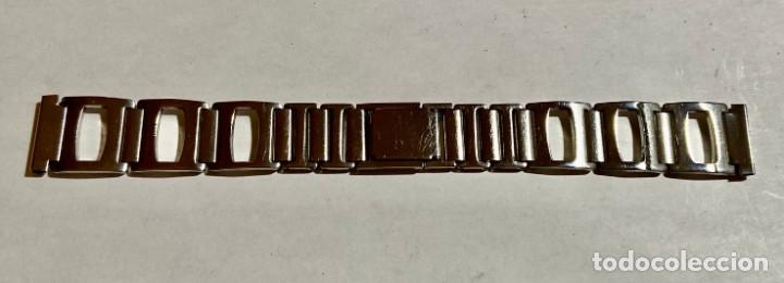 PULSERA DE ACERO INOX PARA RELOJES . 165 X 18. M/M. (Relojes - Recambios)