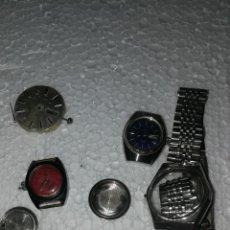 Recambios de relojes: LOTE DE MÁQUINAS PARA PIEZAS. Lote 194240548