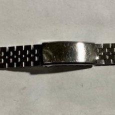 Recambios de relojes: PULSERA DE ACERO INOX 145 X 12 M/M.. Lote 194362160