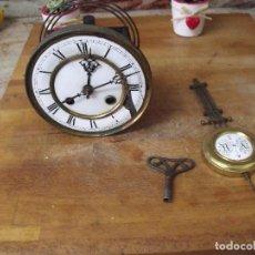 Recambios de relojes: ANTIGUA MAQUINARIA ALEMANA KIENZLE PARA RELOJ ALFONSINO- AÑO 1880-COMPLETA Y FUNCIONAL- LOTE 245. Lote 194370230