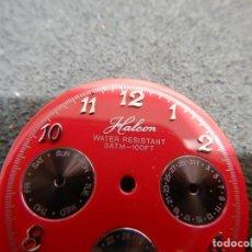 Recambios de relojes: ESFERAS CHRONO. Lote 194407383