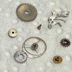 Recambios de relojes: FE 163 - VARIAS PIEZAS . Lote 194513850