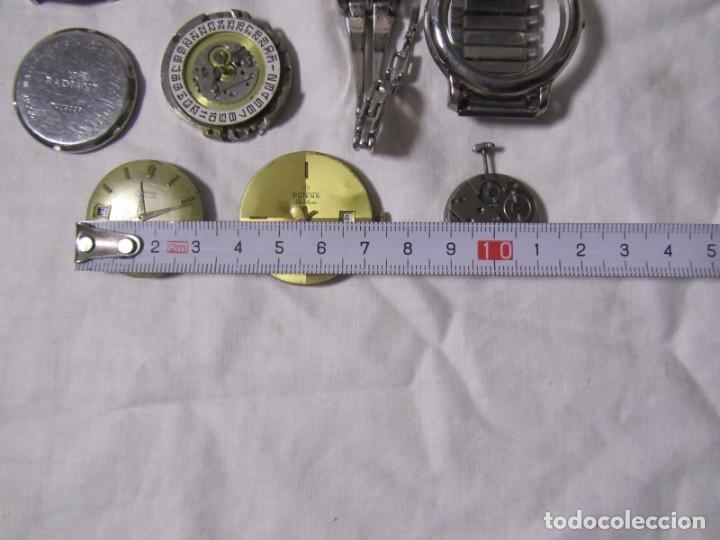 Recambios de relojes: Lote de cajas y mecanismos de reloj para piezas - Foto 2 - 194517131