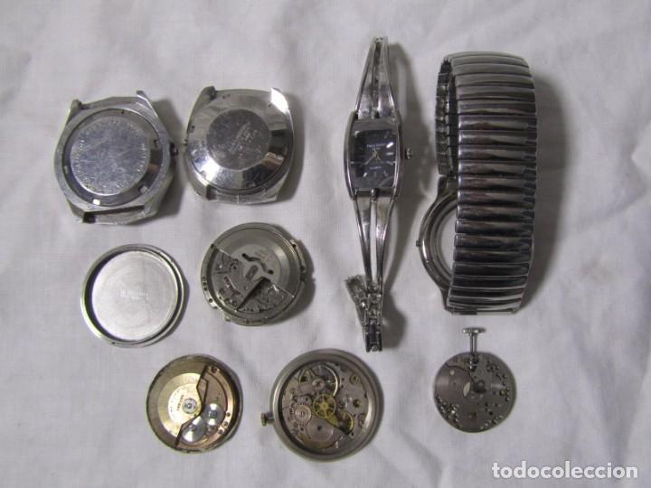 Recambios de relojes: Lote de cajas y mecanismos de reloj para piezas - Foto 6 - 194517131