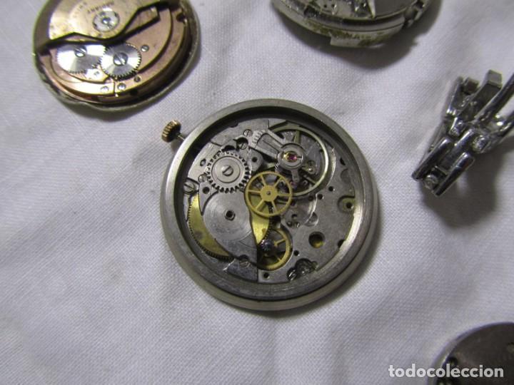 Recambios de relojes: Lote de cajas y mecanismos de reloj para piezas - Foto 8 - 194517131