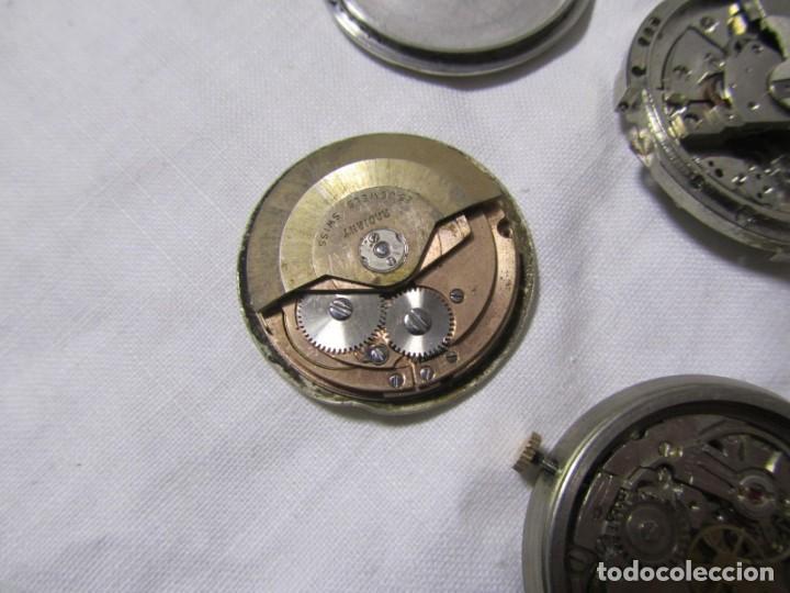 Recambios de relojes: Lote de cajas y mecanismos de reloj para piezas - Foto 9 - 194517131