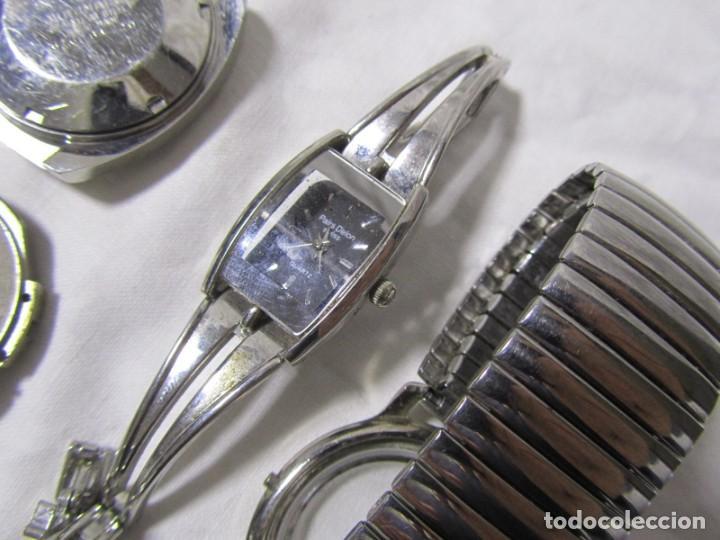 Recambios de relojes: Lote de cajas y mecanismos de reloj para piezas - Foto 13 - 194517131