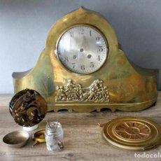 Recambios de relojes: RELOJ DE LATÓN MODELO NAPOLEÓN, OBJETO DE RENOVACIÓN.. Lote 194565296