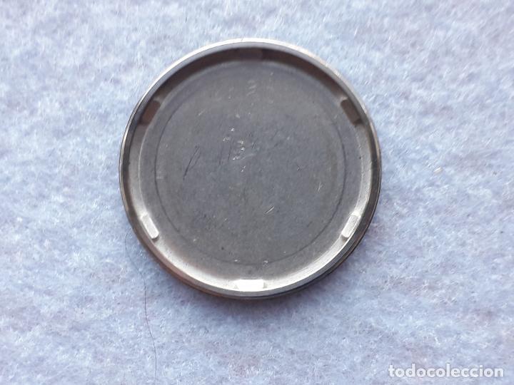 Recambios de relojes: Tapa roscada de acero inoxidable Seiko. Para reloj clásico de caballero - Foto 2 - 194582276