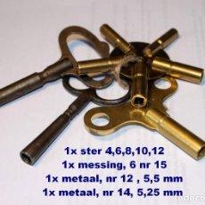 Recambios de relojes: LOTE RELOJES LLAVES REF 01. Lote 194592001