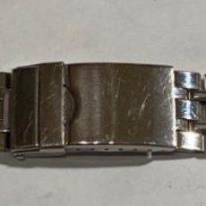 Recambios de relojes: PULSERA DE ACERO INOX 145 M/M. MAX ANCHO 18 .. Lote 194602315