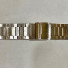 Recambios de relojes: PULSERA DE ACERO INOX LARGO MAX 167 M/M. - ANCHO 18 M/M.. Lote 194604116