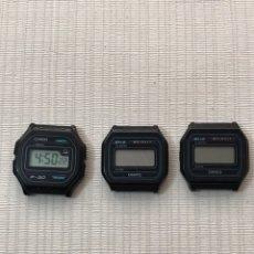 Recambios de relojes: LOTE RELOJES CASIO VINTAGE •*•. Lote 194668076