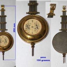 Recambios de relojes: PÉNDULO RA ANTIGUO PARA RELOJ DE PARED, REF 260. Lote 194700401