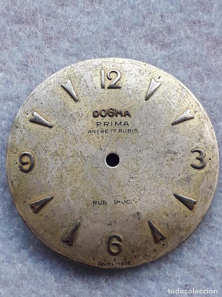 Recambios de relojes: Esfera para reloj Dogma. Clásico de Caballero. - Foto 3 - 194701705