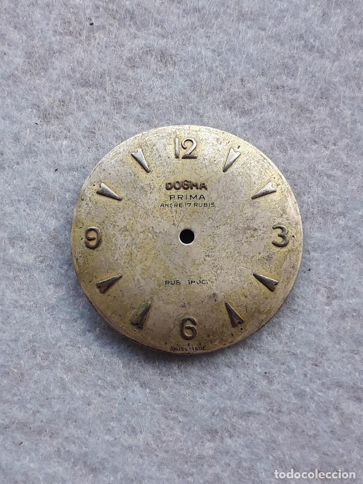 ESFERA PARA RELOJ DOGMA. CLÁSICO DE CABALLERO. (Relojes - Recambios)