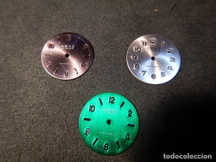 LOTE 3 ESFERAS (Relojes - Recambios)
