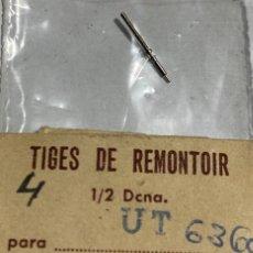 Recambios de relojes: 1 TIJA UNITAS ( UT ) 6360. Lote 194747276