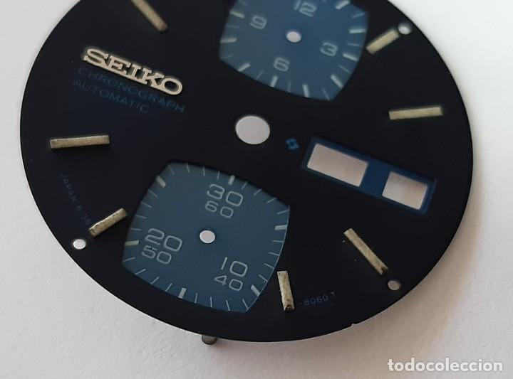 Recambios de relojes: Esfera Seiko 6138-8060 T - Foto 9 - 194873000