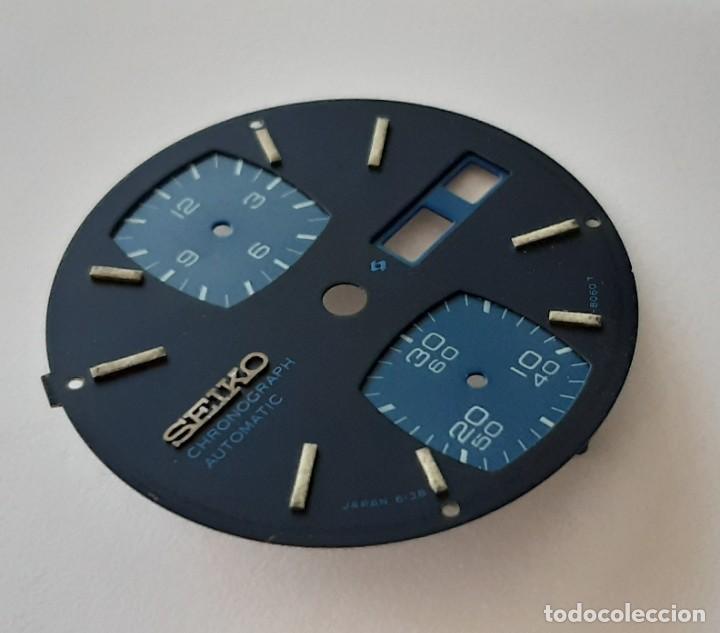 Recambios de relojes: Esfera Seiko 6138-8060 T - Foto 10 - 194873000
