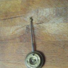 Recambios de relojes: ANTIGUO PENDULO PARA MAQUINA PARIS RELOJ DE SOBREMESA-AÑO 1860- - LOTE Nº 210. Lote 194874820