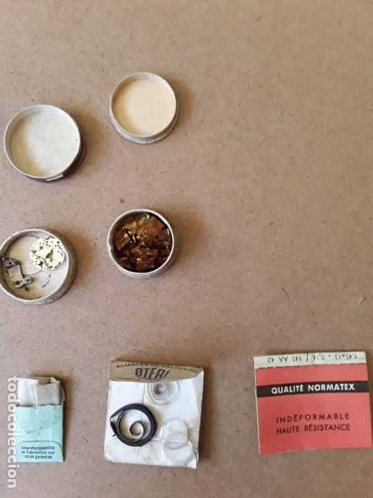 Recambios de relojes: Lote de piezas y componentes de relojes - Foto 2 - 194892170