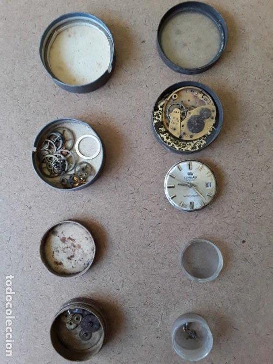 Recambios de relojes: Lote de piezas y componentes de relojes - Foto 3 - 194892170