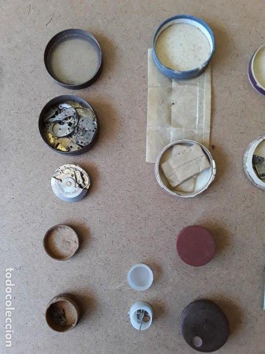 Recambios de relojes: Lote de piezas y componentes de relojes - Foto 4 - 194892170