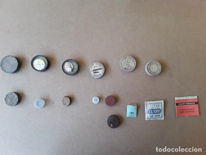 Recambios de relojes: Lote de piezas y componentes de relojes - Foto 5 - 194892170