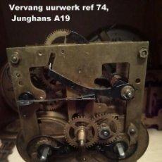 Recambios de relojes: MÁQUINA JUNGHANS A19, ADECUADA PARA REEMPLAZO, REF 74. Lote 194912331