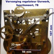 Recambios de relojes: MÁQUINA KIENZLE 34/114 1/2, ADECUADA PARA SUSTITUCIÓN, REF 78. Lote 194912448