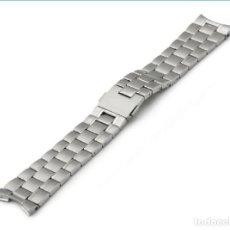 Recambios de relojes: CORREA ARMIX 20MM. ACERO INOXIDABLE 316L. - COMPATIBLE TAGHEUER -. Lote 194924215
