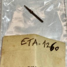 Recambios de relojes: 1 TIJA ETA 1260. Lote 194924887