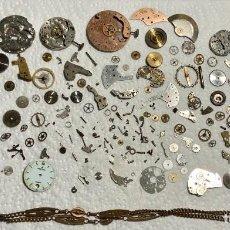 Recambios de relojes: LOTE RESTOS VARIOS DE ANTIGUA RELOJERIA .. Lote 195050130