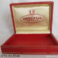 Recambios de relojes: ESTUCHE RELOJ UNIVERSAL GENEVE VINTAGE. Lote 195104597