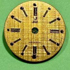 Recambios de relojes: ESFERA DE RELOJ JAZZ ANTICHOC , VINTAGE DE CUERDA MAQUINA FE 68 - 15,3 M/M. Lote 195229483
