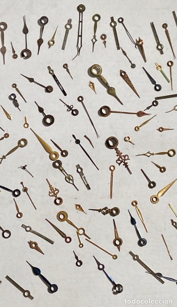 Recambios de relojes: LOTE SURTIDO DE APROX. 250 AGUJAS DE TIPOS VARIOS - Foto 5 - 195333508