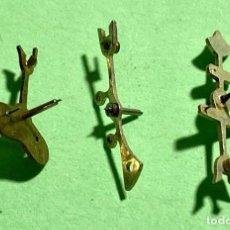 Recambios de relojes: 3 ANCORAS DE BOLSILLO . Lote 195353720