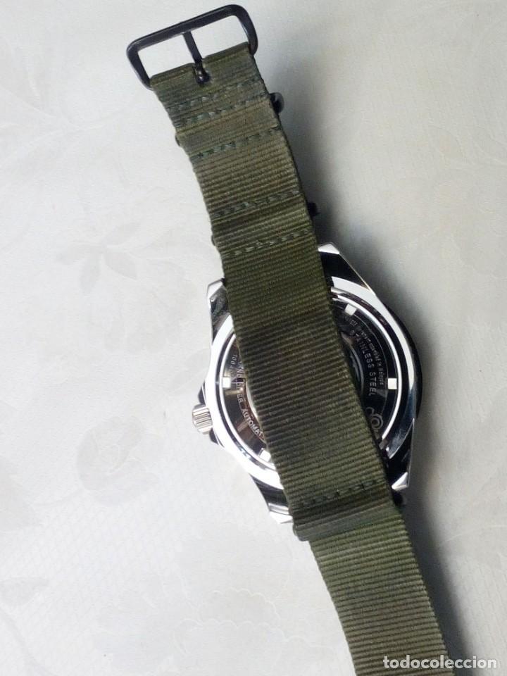 Recambios de relojes: Correa reloj de 22mm tipo NATO en color olive drab – verde militar. Nueva a estrenar. - Foto 6 - 195055348