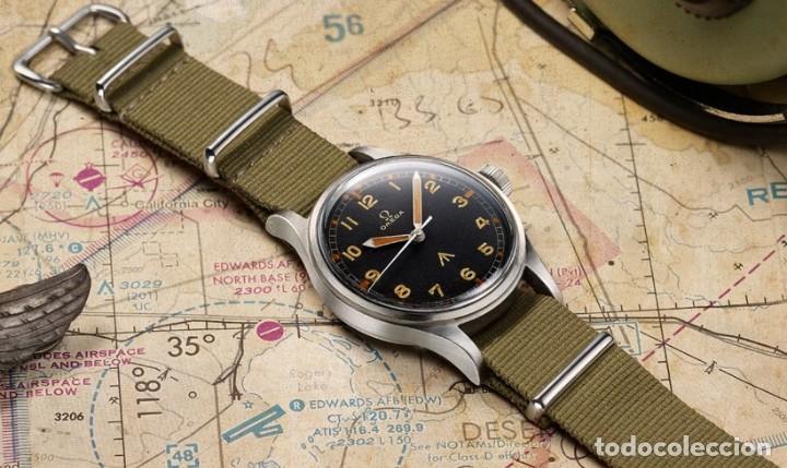 Recambios de relojes: Correa reloj de 22mm tipo NATO en color olive drab – verde militar. Nueva a estrenar. - Foto 7 - 195055348