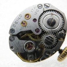 Recambios de relojes: FORNITURA MAQUINA MECANICA SEIKO COMPLETA VOLANTE OK RESTAURACION LOTE WATCHES. Lote 195429790