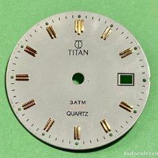 Recambios de relojes: ESFERA TITAL QUARTZ - 27,8 M/M Ø . Lote 195454862